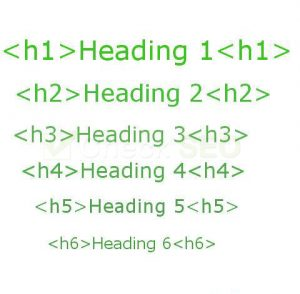 Header tags importance in SEO