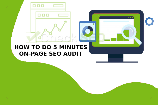 how to do 5 minutes On-Page SEO audit